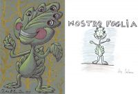 Mostro foglia - 1-2-3 Mostro! di Oscar Salerni - Monster project