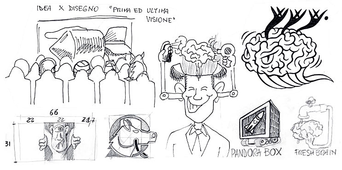 Prima ed ultima visione - Fresh brain - Cavallo - Moriarty brain